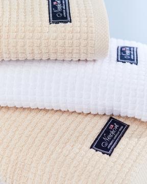 Fisher Island handdukar beige 5