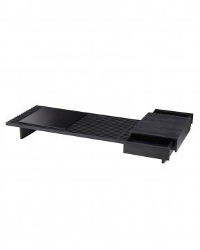 Crest soffbord kolgrå 2