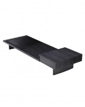 Crest soffbord kolgrå 3