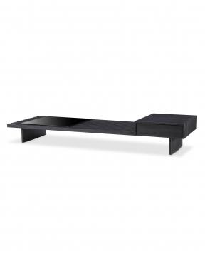 Crest soffbord kolgrå 1