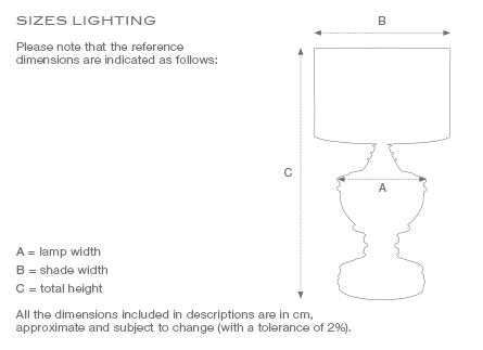 Bordslampa Gordini Nickel 4
