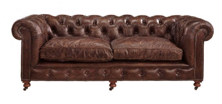 Kensington sofa brun 2
