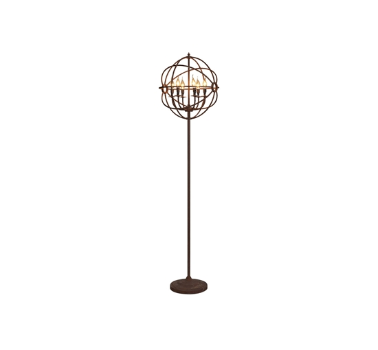 Gyro chandelier floor lamp 1