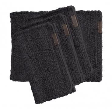 HEMP Tablemat Dark Grey 1