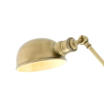 Soho bordslampa mässing 2