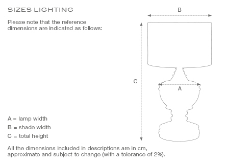 Soho bordslampa mässing 4