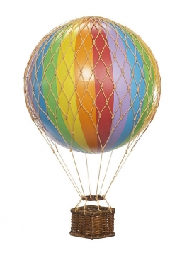 Floating The Skies luftballong regnbåge 1