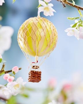 Floating The Skies luftballong gul 5