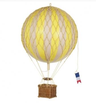 Travels Light luftballong gul 1
