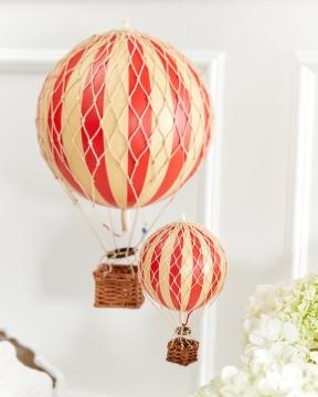Travels Light luftballong röd 4