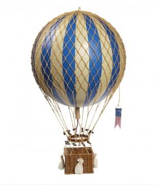 Royal Aero luftballong blå 1