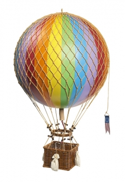 Royal Aero luftballong regnbåge 1