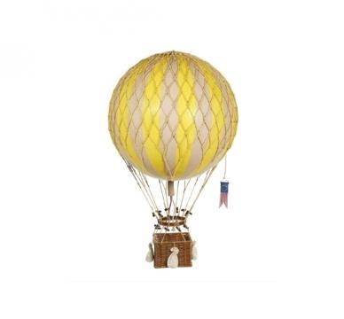 Royal Aero luftballong gul 1