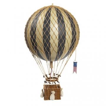 Royal Aero luftballong svart 1