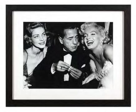 Tavla Lauren Bacall - Marilyn Monroe 1