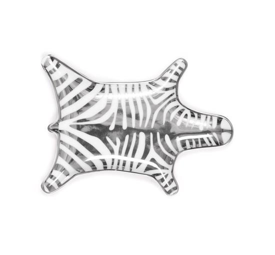 Zebra fat silver