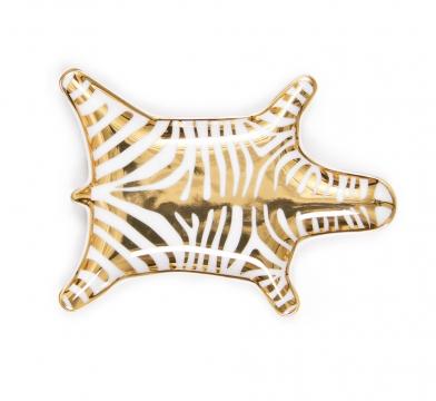Zebra fat guld 3