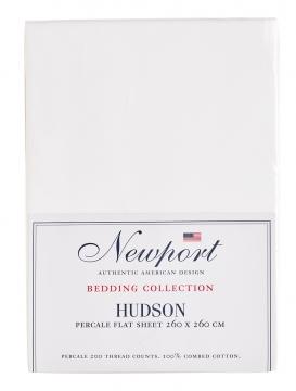 Hudson underlakan vit 260x260 3