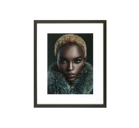 Portratt av en kvinna 1 1