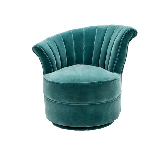 Chair aero left turquoise 1