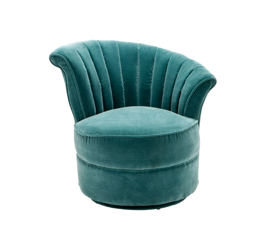 Chair aero right turquoise 1