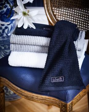 Fisher Island handdukar blå 4-pack 5