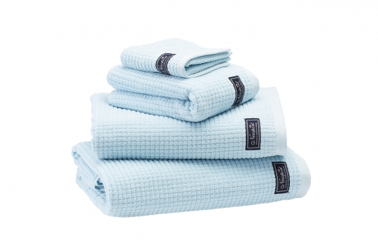Fisher Island handdukar aqua 4-pack 3