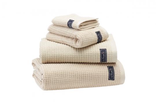 Fisher Island handdukar beige 4-pack 3