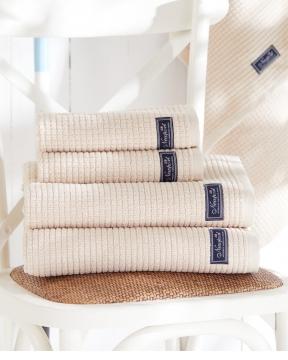 Fisher Island handdukar beige 4-pack 2
