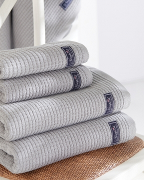 Fisher Island handdukar grå 4-pack 4