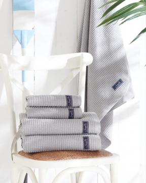 Fisher Island handdukar grå 4-pack 1