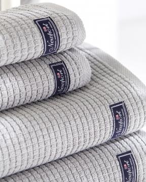 Fisher Island handdukar grå 4-pack 2