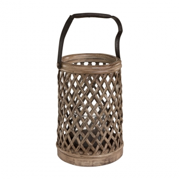 Bamboo lykta vintage 3