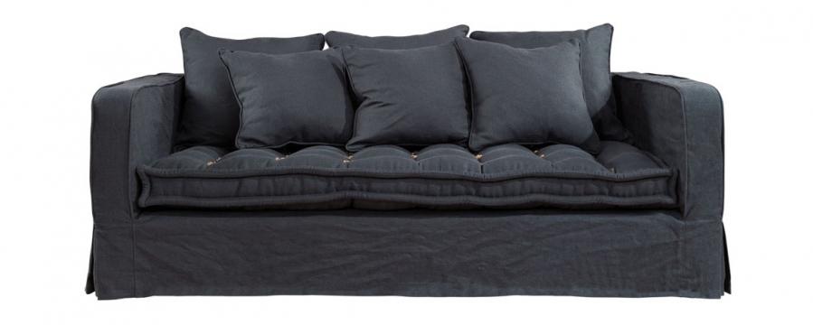 GREENWICH Soffa 2,5-s Linen Indigo 1
