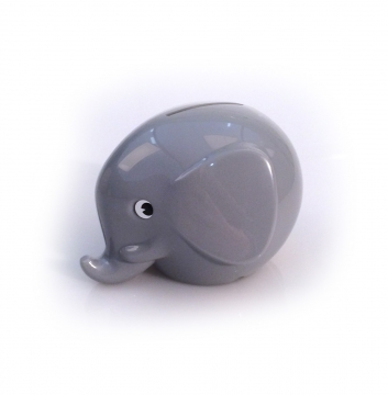 Elefantsparbössa Pastel Grey S 1