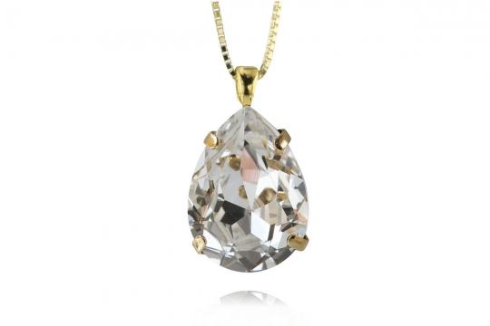 Classic Drop halsband crystal 2