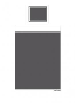 Belgravia påslakan grå/vit 4