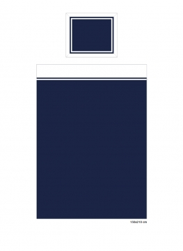 Belgravia påslakan blå/vit 4
