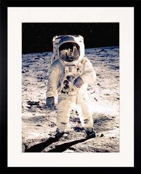 Neil armstrong on the moon 2