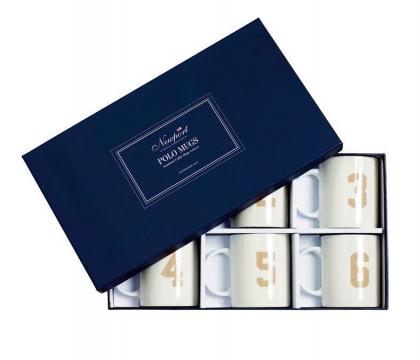 Newport Polo Mugs ivory 6-pack 3