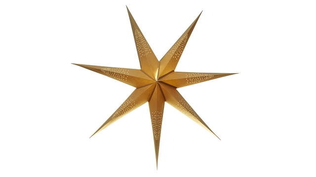 Sinatra-110cm-seven-pointed-paper-star-plain-gold