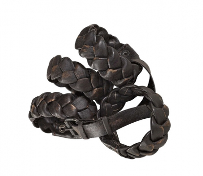 NAPKIN RING 4-pack Leather 1