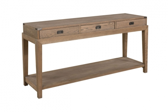 VERMONT Consoletable Weathered Oak 1