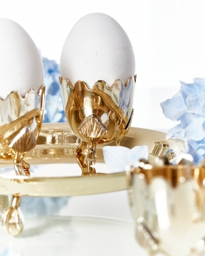 Äggkopp mässing 5