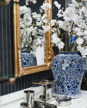Baroque spegel guld 2