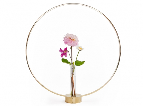 Flora glasinsats till Gloria 1