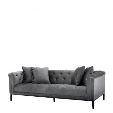 Soffa Cesare mörkgrå 1