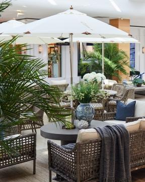 Capri parasoll off-white 1