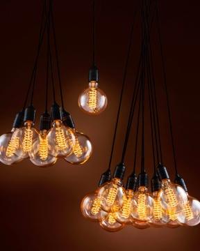 Vintage 1-light taklampa 1