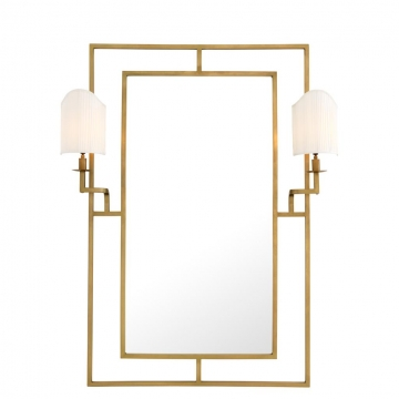 Spegel Astaire Mässing 1